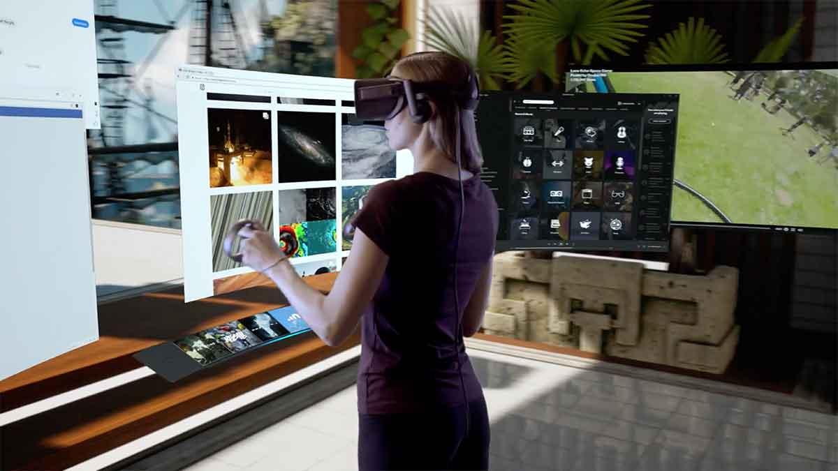 Das Universalmenü wird durch ein Overlay ersetzt und Home zu einem virtuellen Zuhause, in das man Freunde einladen kann.