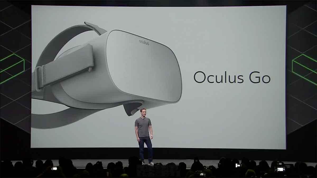 Auf der Game Developers Conference präsentiert Facebook die neue VR-Brille Oculus Go erstmals einem größeren Publikum. Die ersten Eindrücke sind recht positiv.