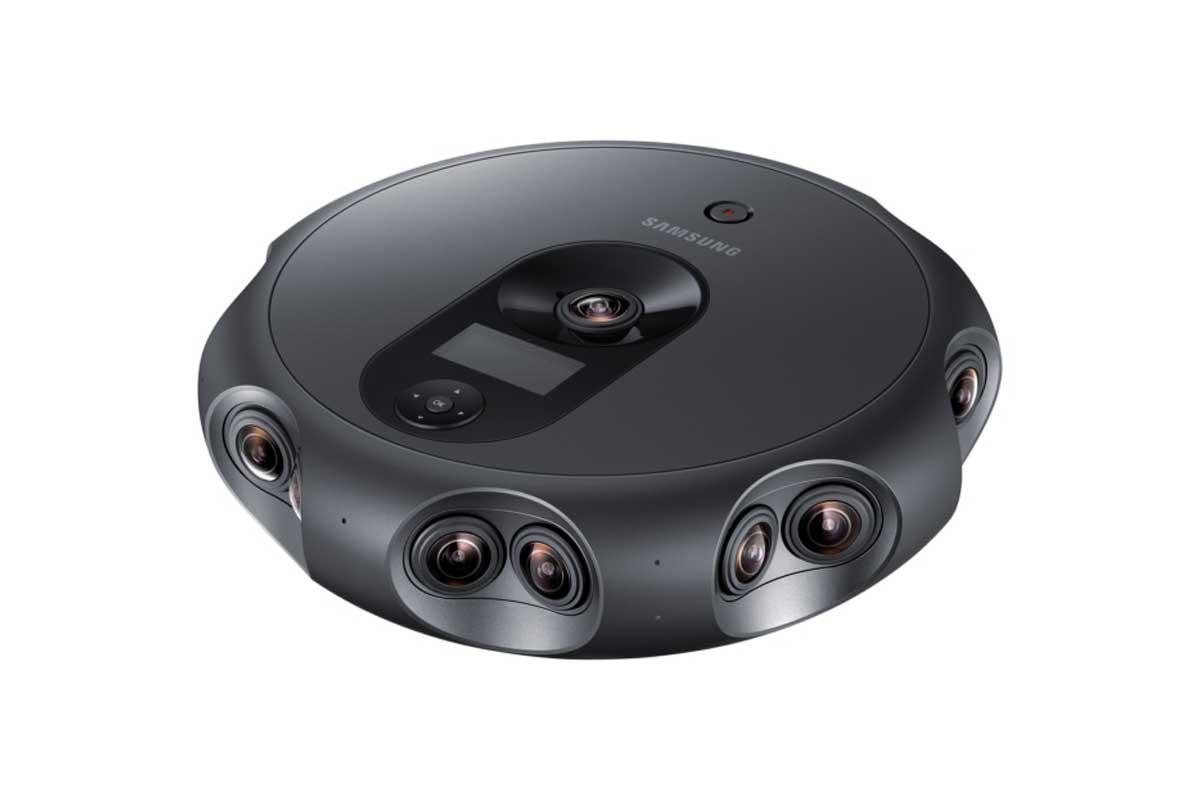 Die Kamera richtet sich an Profis und ist für das Aufnehmen und Streamen stereoskopischer 360-Grad-Videos ausgelegt.