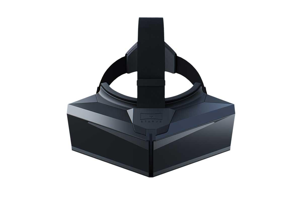 StarVR bietet eine 5K-Auflösung und ein Sichtfeld von 210 Grad. Die Zielgruppe sind Betreiber von Spielhallen und Vergnügungsparks.