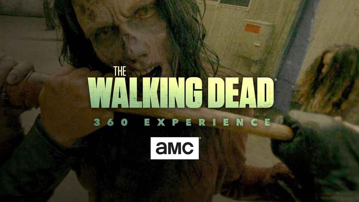 """Der US-Fernsehsender AMC veröffentlichte eine VR-App mit 360-Grad-Filmen aus der erfolgreichen Zombie-Serie """"The Walking Dead""""."""