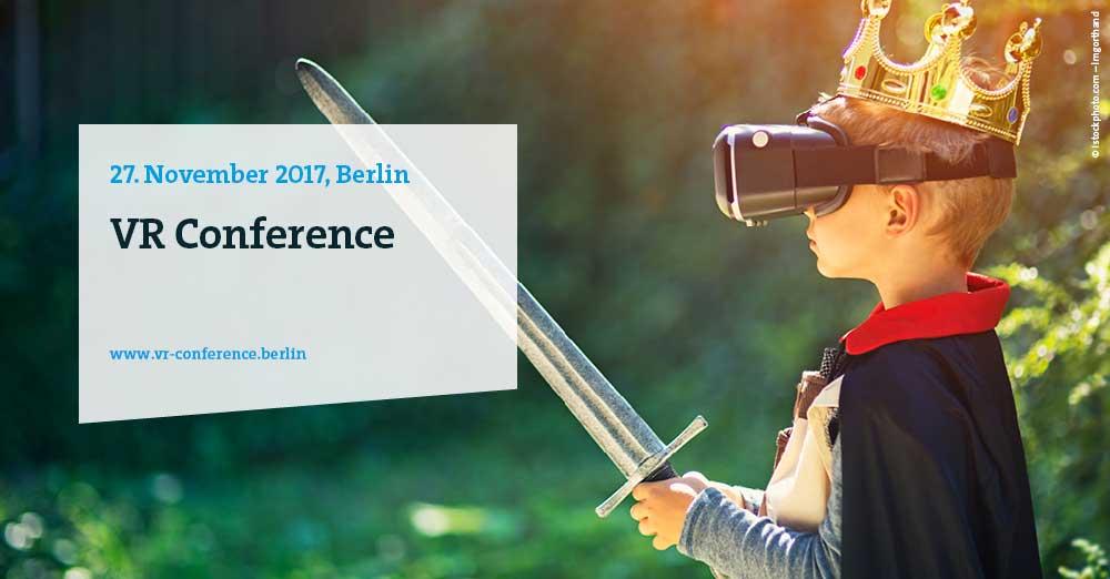 """Erste """"VR Conference"""" findet im November in Berlin statt, kostenloser Eintritt"""
