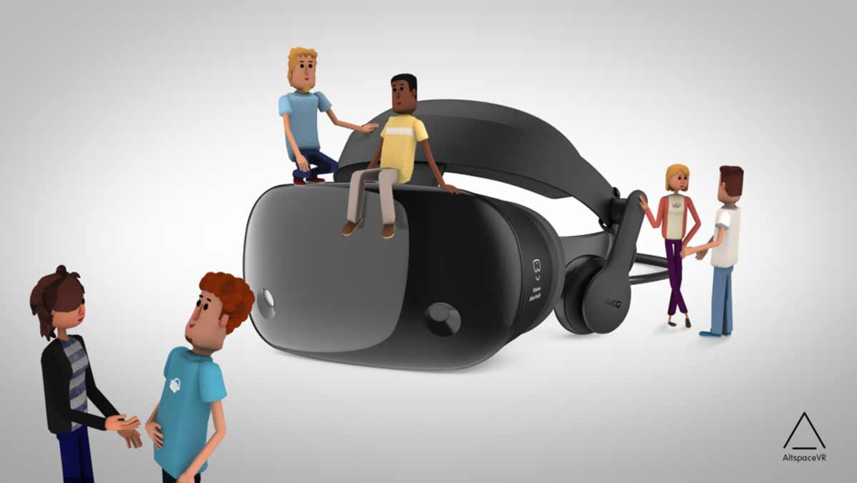 Jetzt ist es raus: Microsoft rettete das Social-VR-Startup AltspaceVR vor der Pleite. Für die Redmonder ist das der Einstieg in Social-VR.