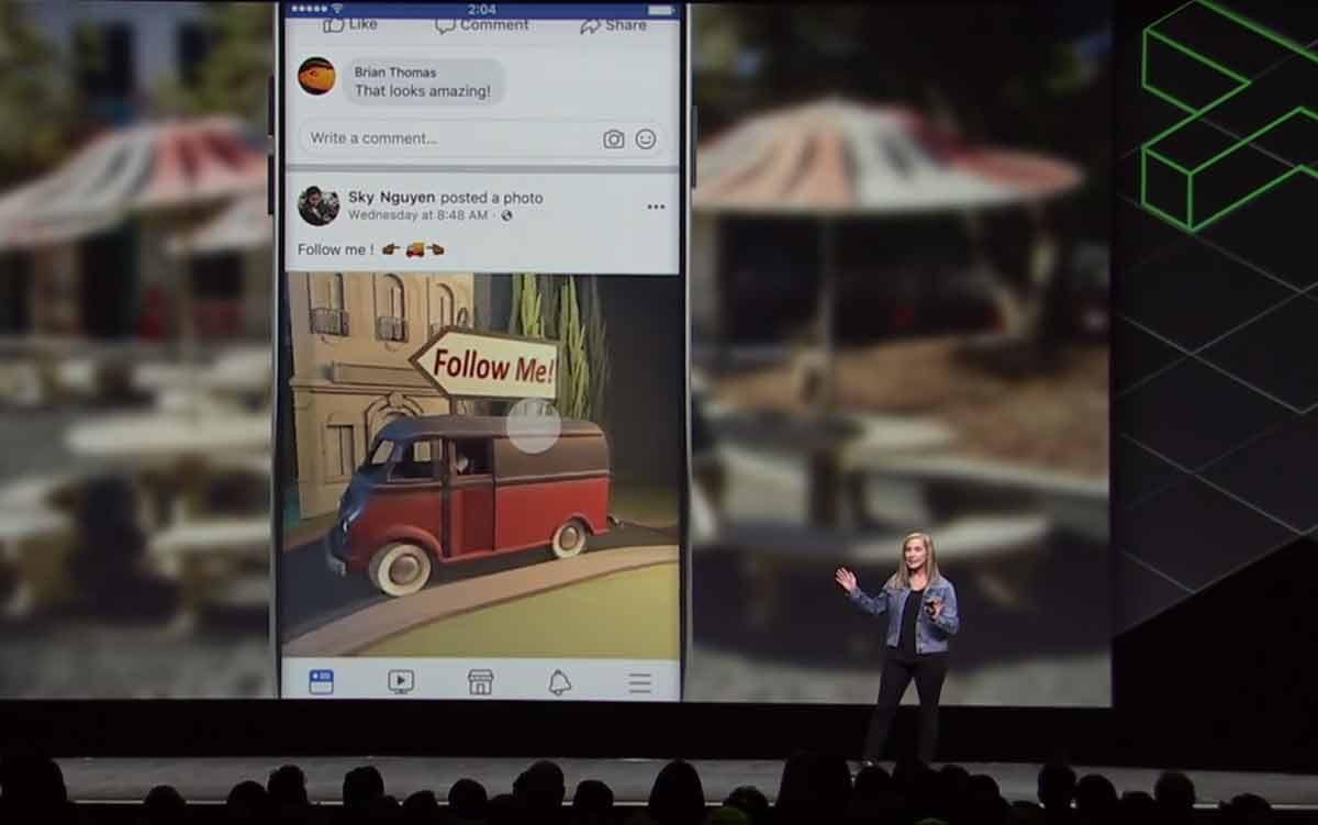 Unter den ganzen Ankündigungen auf Facebooks Virtual-Reality-Konferenz gibt es einen heimlichen Star. Und der ist keine VR-Brille.