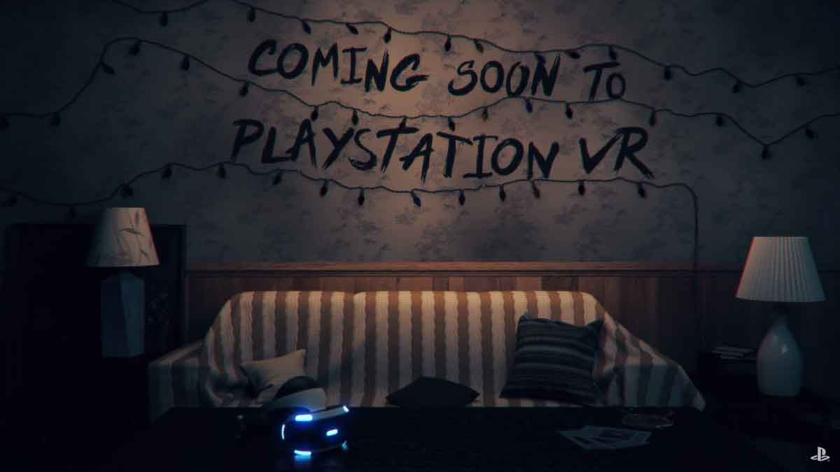 Sony bringt eine VR-Erfahrung zur Kultserie Stranger Things für Playstation VR, die ab sofort kostenlos heruntergeladen werden kann.