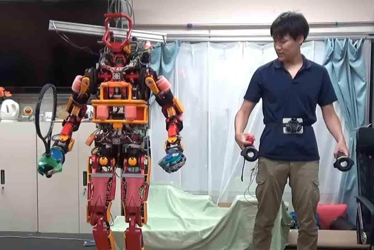 Virtual-Reality-Technologien bieten eine Reihe Anwendungsszenarien: Zum Beispiel können Roboter ferngesteuert werden.