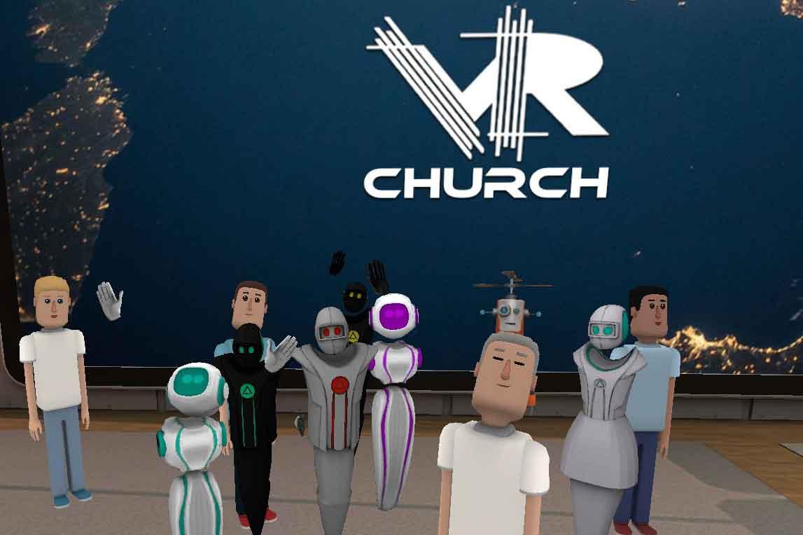 Was die Pornoindustrie kann, kann die Kirche schon lange? Ein Virtual-Reality-Pastor veranstaltet regelmäßig Gottesdienste in VR.