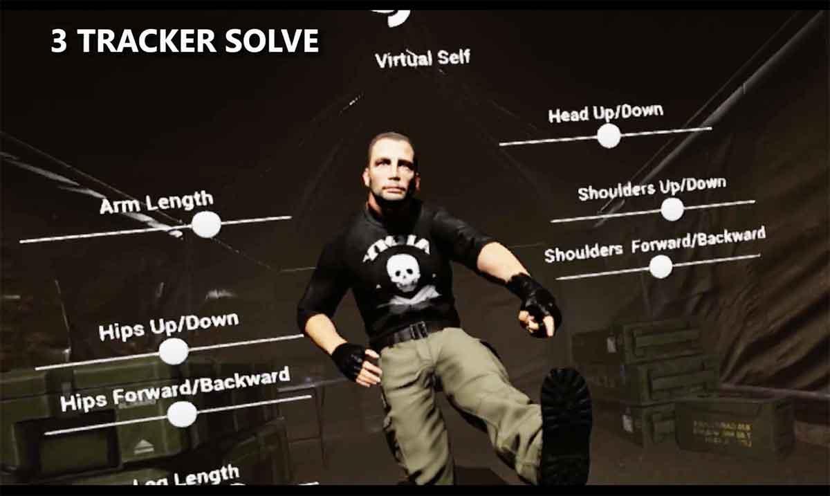 """""""Virtual Self"""" skaliert mit der Anzahl verwendeter Vive Tracker und bringt Nutzern auch ohne die teuren Trackingeinheiten Vorteile."""
