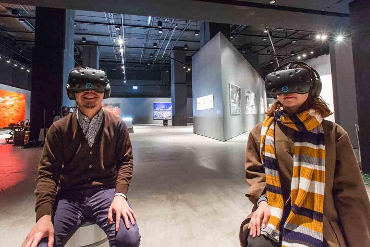 """Mit """"Vive Arts"""" will HTC Projekte an der Schnittfläche von Kunst und Virtual Reality fördern und stellt dafür mehrere Millionen US-Dollar bereit."""