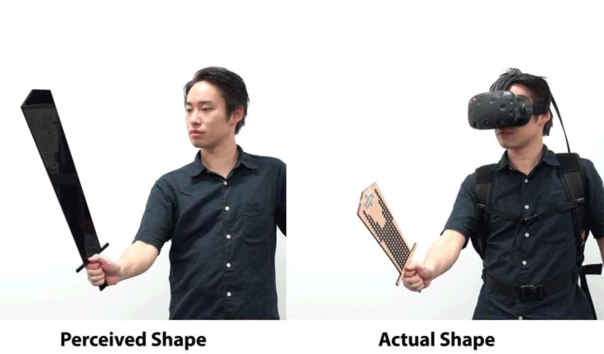 Das Programm rechnet Objekte in kleinere und leicht zu produzierende VR-Controller um, die sich dennoch annähernd so anfühlen wie das Original.