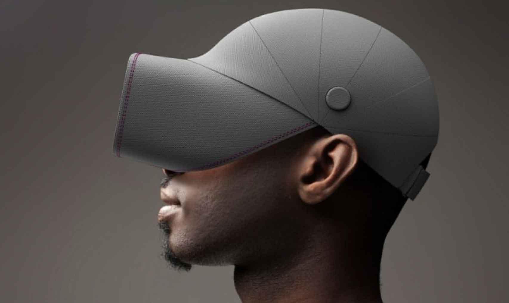 Deisgner zeigen VR-Brillen, die leichter aufzusetzen sind, sich bequemer tragen und cooler aussehen als bisherige Produkte.