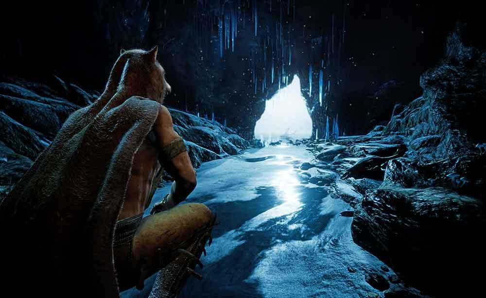 """In """"Shaman: Spirithunter"""" schlüpft man in die Rolle eines jungen Schamanen, der sich in Tiere verwandeln kann und einen Fluch brechen muss."""