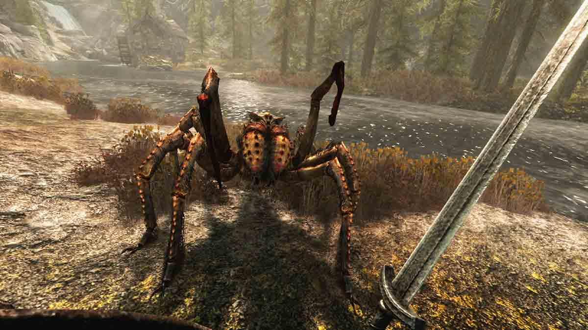 Oculus Rift, HTC Vive und Windows Mixed Reality bekommen mit Skyrim VR ein neues Gaming-Zugpferd.