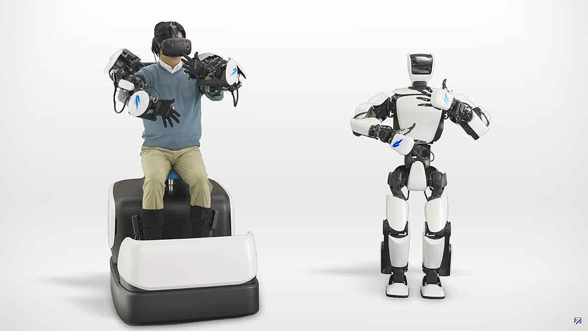 Toyotas neuer Roboter wird mit HTC Vive ferngesteuert