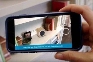 Wenn es ein sinnvolles und alltägliches Anwendungsszenario für Smartphone-Augmented-Reality gibt, dann ist es Online-Shopping.