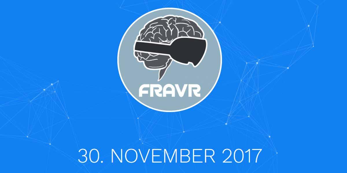 Am 30. November findet in Frankfurt am Main zum zweiten Mail die Virtual-Reality-Fachkonferenz FRAVR statt.