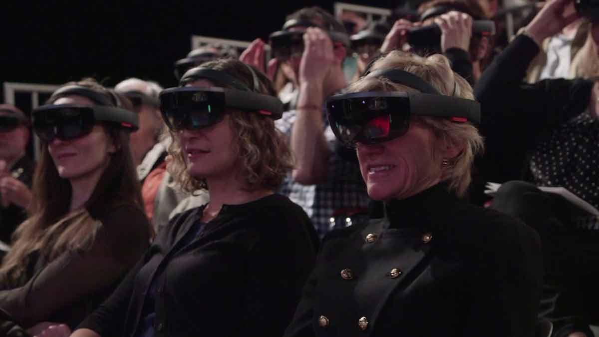 Hololens: Dieses Stück findet in der erweiterten Realität statt