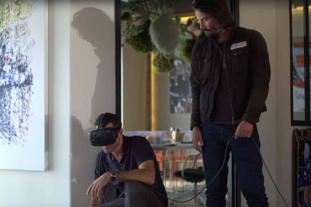 Matrix-Star Keanu Reeves entwirft Motorräder in Virtual Reality