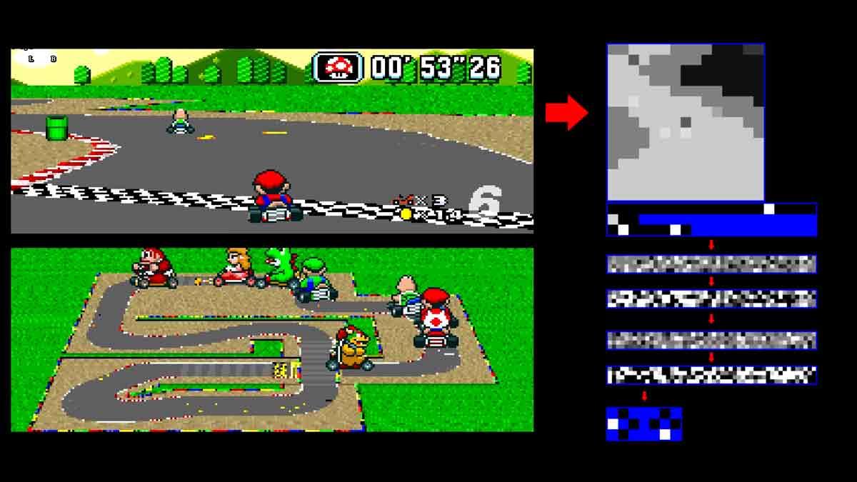 Künstliche Intelligenz bedeutet nicht Perfektion: Ein Entwickler programmierte eine KI, die Mario Kart ebenso schlecht spielt wie sein Vater.
