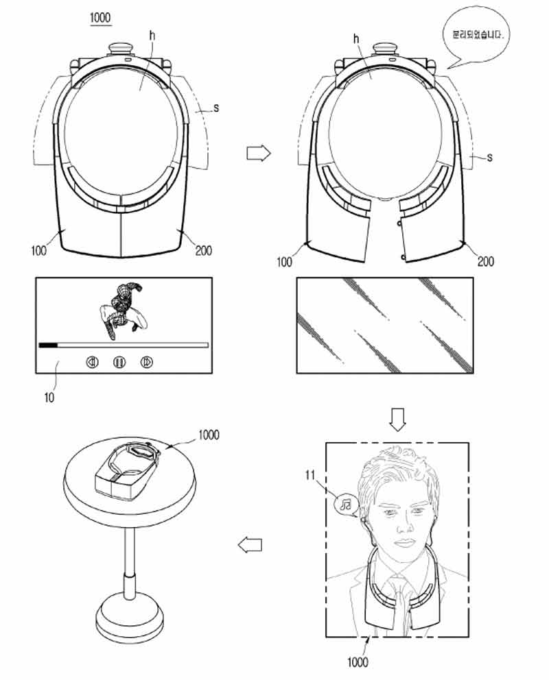 Baut LG an einer autarken Kopfhörer-VR-Brille? Bild: LG