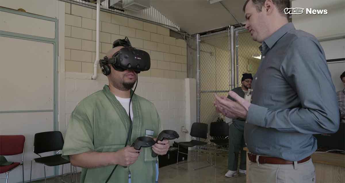 Ein neues US-Rehabilitationsprogramm gibt Langzeithäftlingen Hoffnung: Mit Virtual Reality können sie sich auf eine Welt vorbereiten, die sie nicht mehr wiedererkennen.