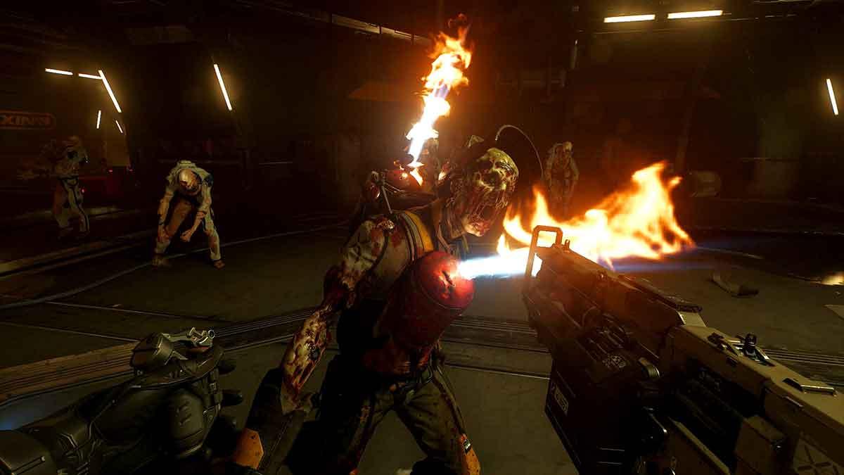 Rund zwei Monate nach Erscheinen von Doom VFR kommt heute der erste PC-VR-Patch. Er bringt wichtige Features, lässt aber dennoch Wünsche offen.