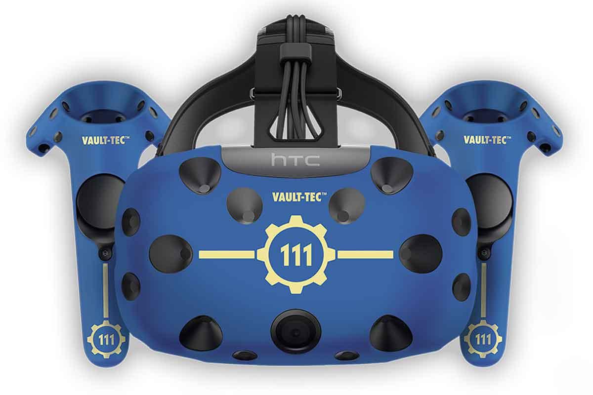 Wir verlosen einen stark limitierten Vault-111-Skin für HTC Vive, der uns von HTC zur Verfügung gestellt wurde.