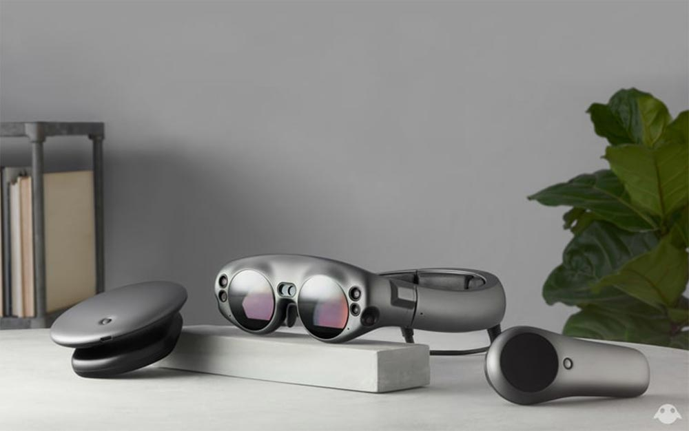 Lightpack, Lightwear und der 3D-Controller. Bild: Magic Leap