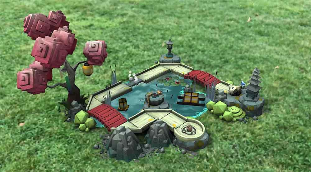 """""""Orbu"""" ist ein auf Hochglanz poliertes Augmented-Reality-Spiel für Apples ARKit. Entwickelt wurde es von einem früheren Playstation-Entscheider."""