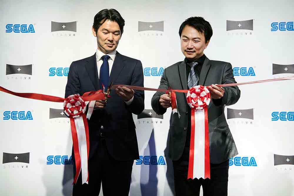 Die StarVR-Brille kam bislang nur in IMAX-Arcades in den USA zum Einsatz, jetzt expandiert sie nach Japan. Dort soll sie Segas VR-Arcades zum Erfolg verhelfen.