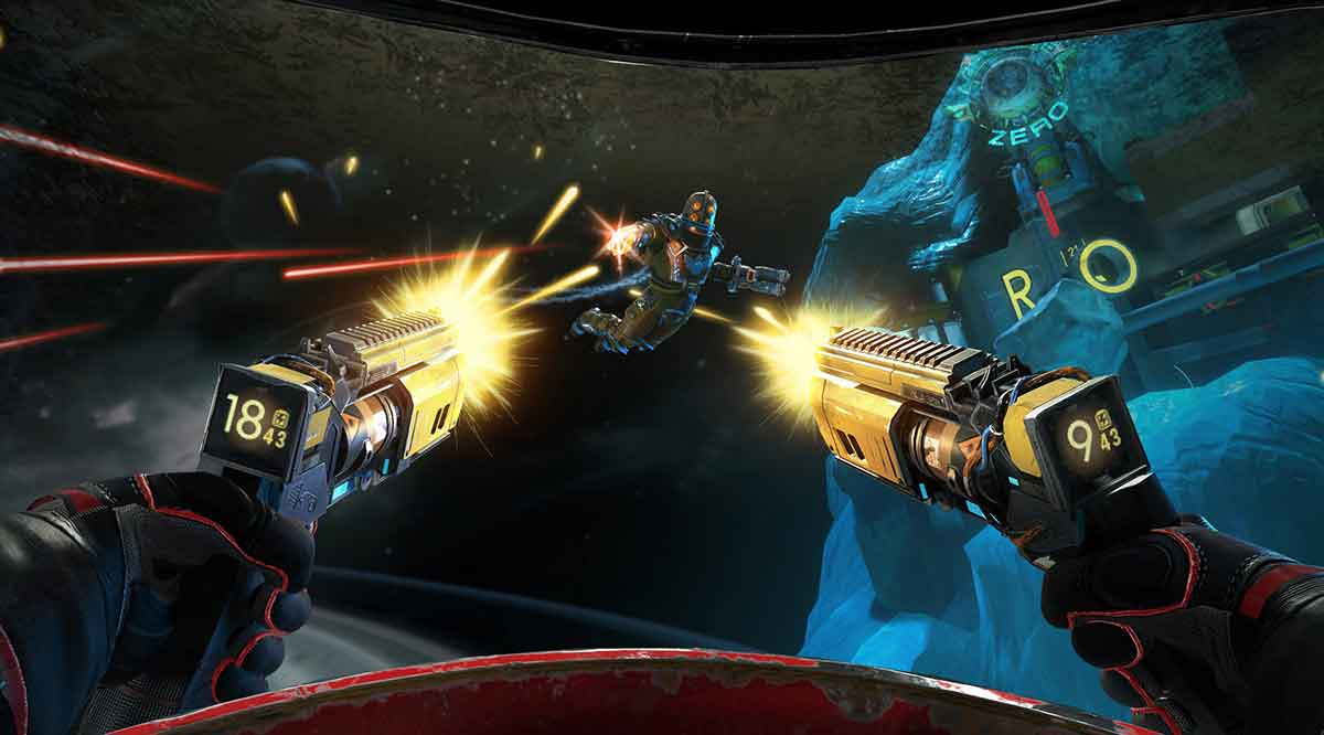"""""""Space Junkies"""" heißt das neueste VR-Spiel von Ubisoft.Ich konnte den Titel auf einer Presseveranstaltung von Oculus in London anspielen."""