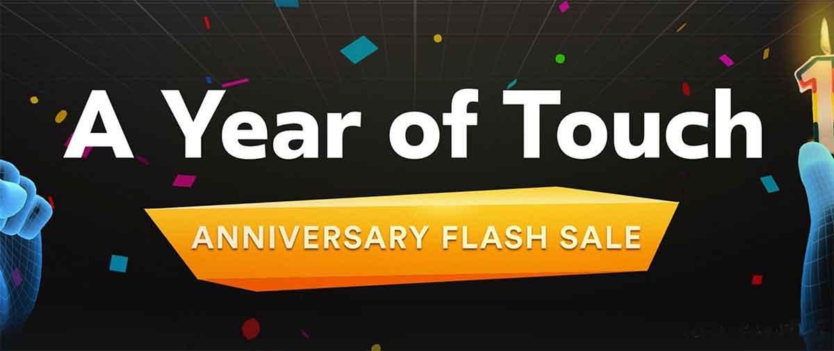 Ein Jahr ist vergangen, seit Oculus Touch auf den Markt kam. Zum einjährigen Jubiläum veranstaltet Oculus einen Blitzverkauf.