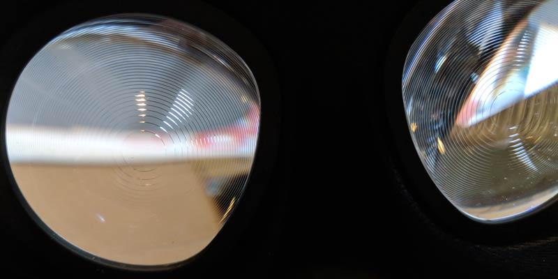 Gut zu erkennen: Die neuen, größeren Linsen mit Fresnel-Schliff. Bild: VRODO