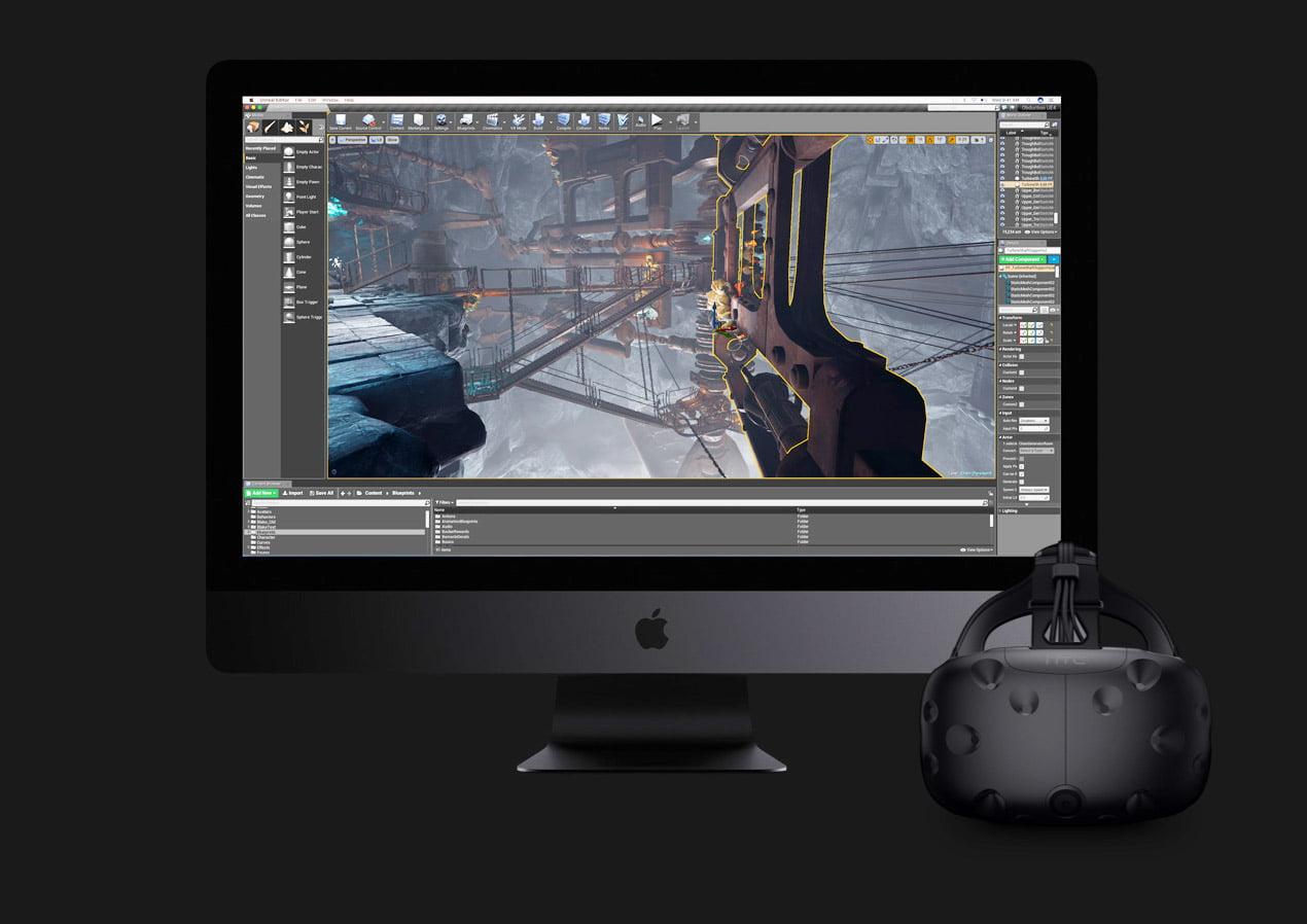 Apples iMac Pro ist teuer und richtet sich an professionelle VR-Anwender
