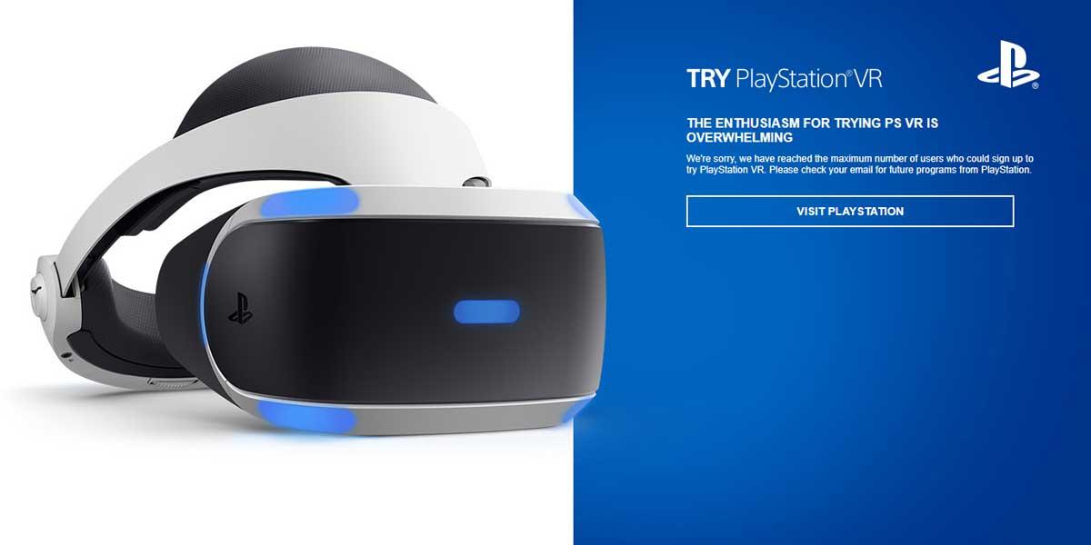 Sony startet eine neue Werbeaktion: Interessierte können Playstation VR kostenlos ausleihen, testen und bei Nichtgefallen zurücksenden.