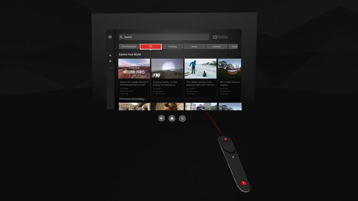 Google bringt ein Schwergewicht in die Virtual Reality: Youtube VR ist bei Steam für HTC Vive und inoffiziell für Oculus Rift verfügbar.