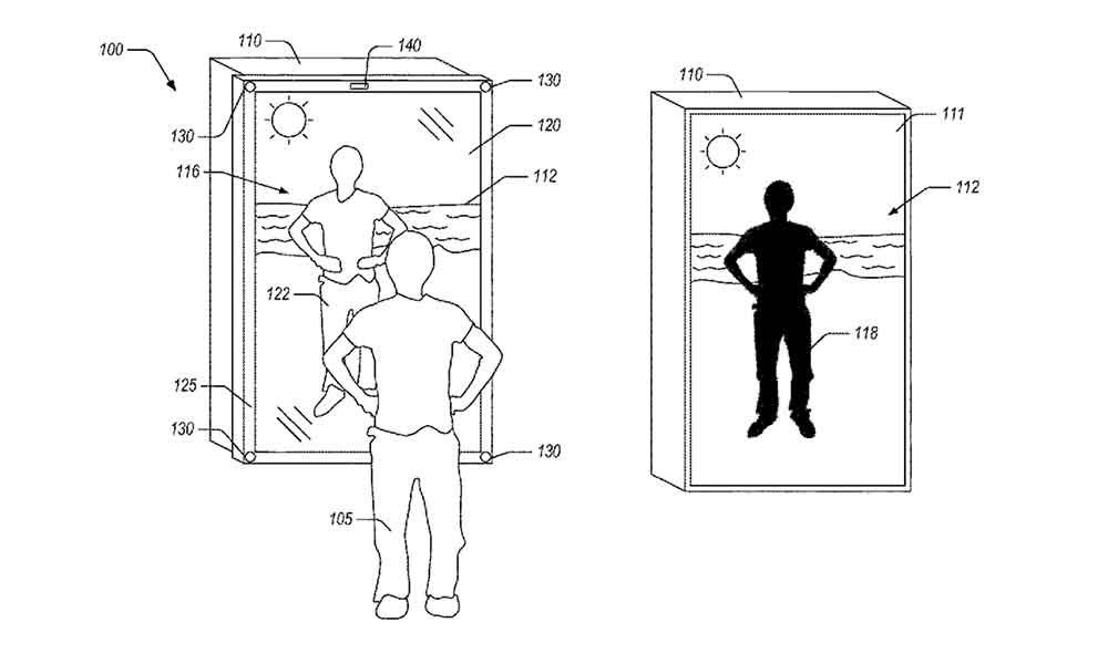 Ein US-Patent legt nahe, dass Amazon an einem Mixed-Reality-Spiegel arbeitet, mit dem Nutzer Kleider anprobieren können, ohne sich umzuziehen.