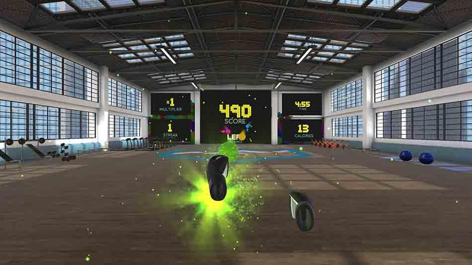 """""""BoxVR"""" kombiniert VR-Sport mit Mechaniken des Musikspiels.Ich habe den Selbstversuch gemacht und war begeistert."""