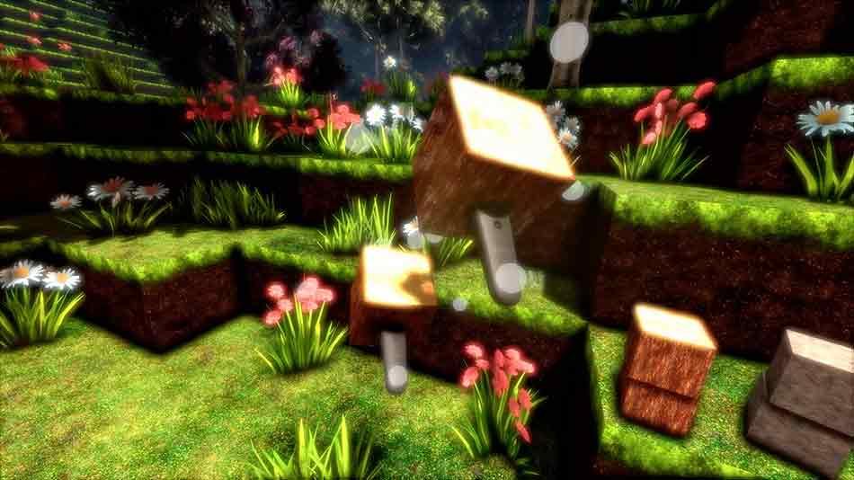"""Zwei Jahre arbeitete ein Hamburger Studio an """"CyubeVR"""". Von Minecraft inspiriert, wurde das Spiel von Grund auf für Virtual Reality entwickelt."""