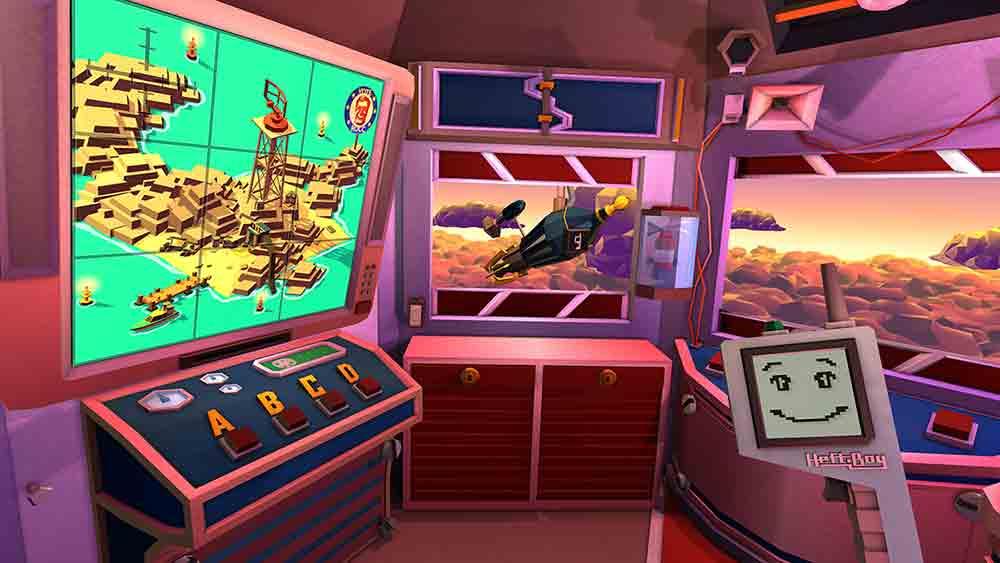 """Eine Reise zum Mond, ein Präsident mit Arnold-Schwarzegger-Stimme und jede Menge Rätsel:Wer Adventures mit Humor mag, wird """"Elevator To The Moon"""" lieben."""