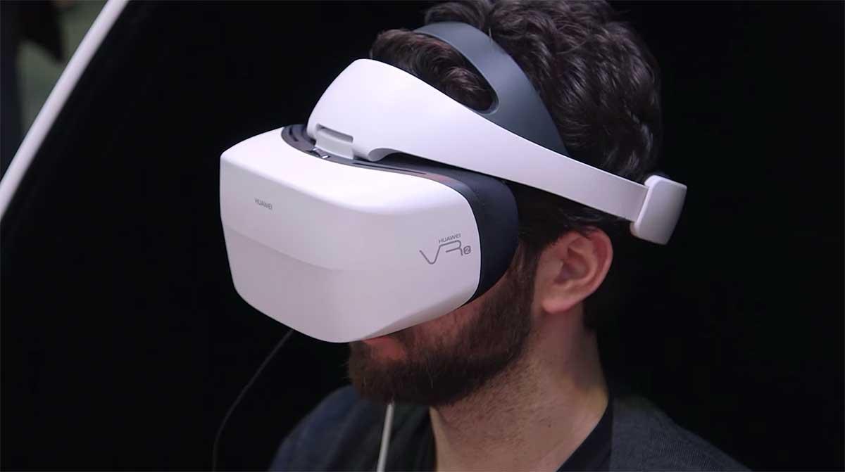 Huawei zeigt auf der Elektronikmesse eine VR-Brille mit interessantem Hybrid-Konzept. An der Umsetzung hapert es noch.