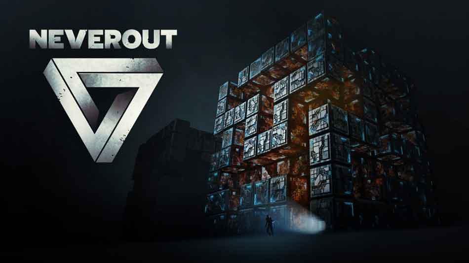 """""""Neverout"""" beschwört gekonnt die Atmosphäre des Horrorstreifens """"Cube"""" und bringt die Köpfe von Rätselfreunden zum Rauchen."""