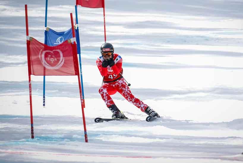 Das US-Skiteam ist besonders gut vorbereitet, denn es hat die Skipisten bereits hunderte Male befahren - in der Virtual Reality.