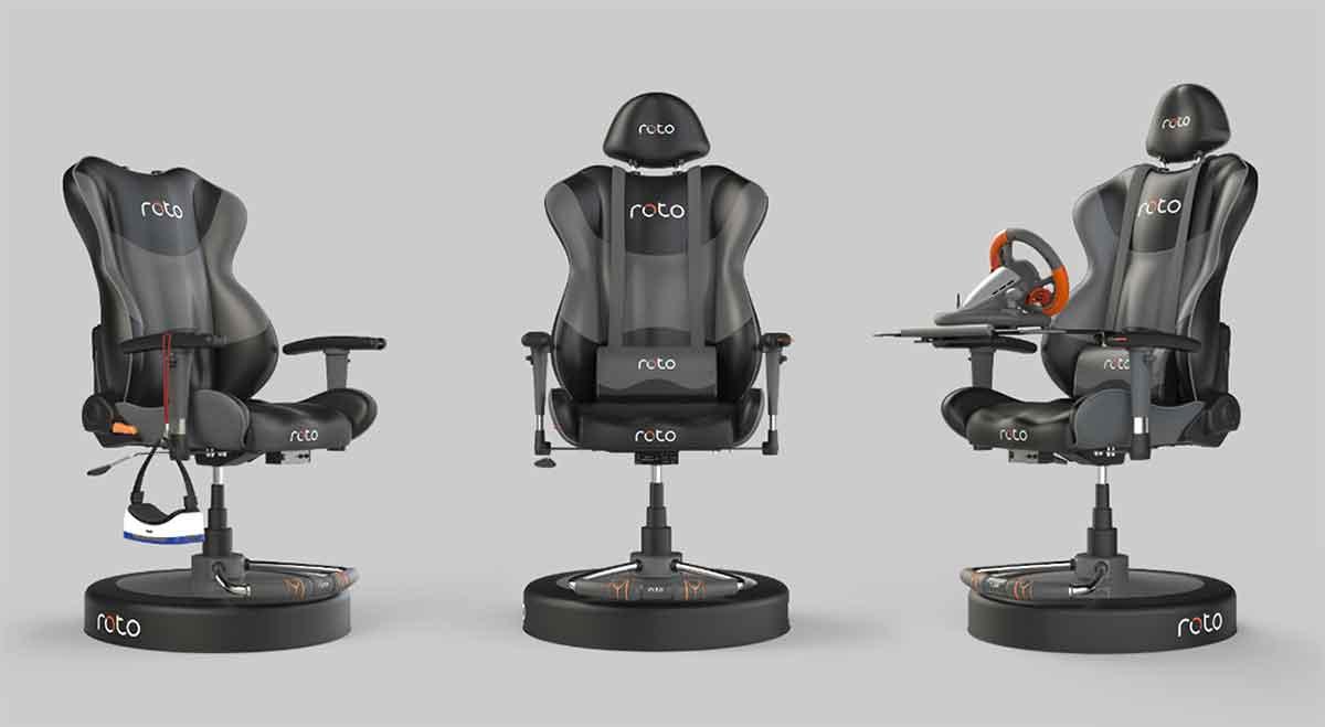 Nach vielen Verspätungen geht Roto VR in Serienproduktion. Erste Entwickler haben den VR-Drehstuhl bereits erhalten, Endkunden werden demnächst beliefert.