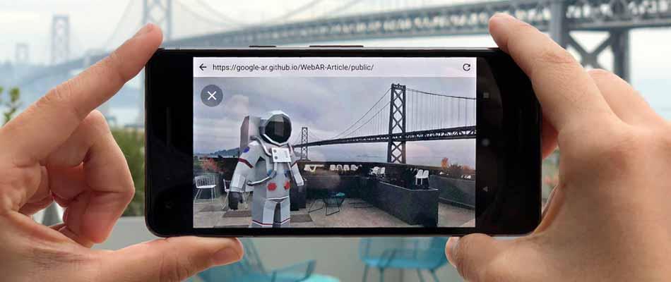 Die nächste Ausbaustufe in Googles Augmented-Reality-Plänen sind Browser, die 3D-Modelle aus dem Web nahtlos in die Realität projizieren.