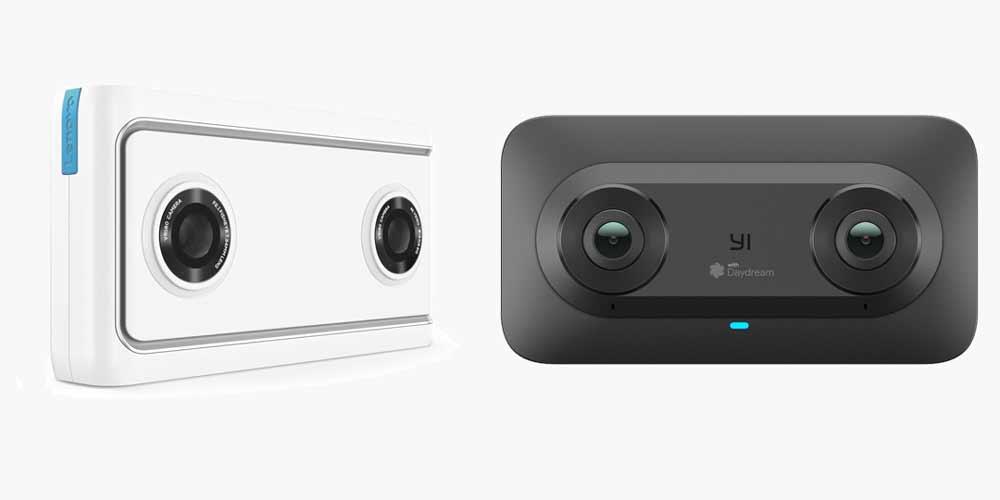 Googles neue VR-Kameras filmen zwar nur 180-Grad, die dafür in ordentlicher Qualität und mit stereoskopischem 3D-Effekt.