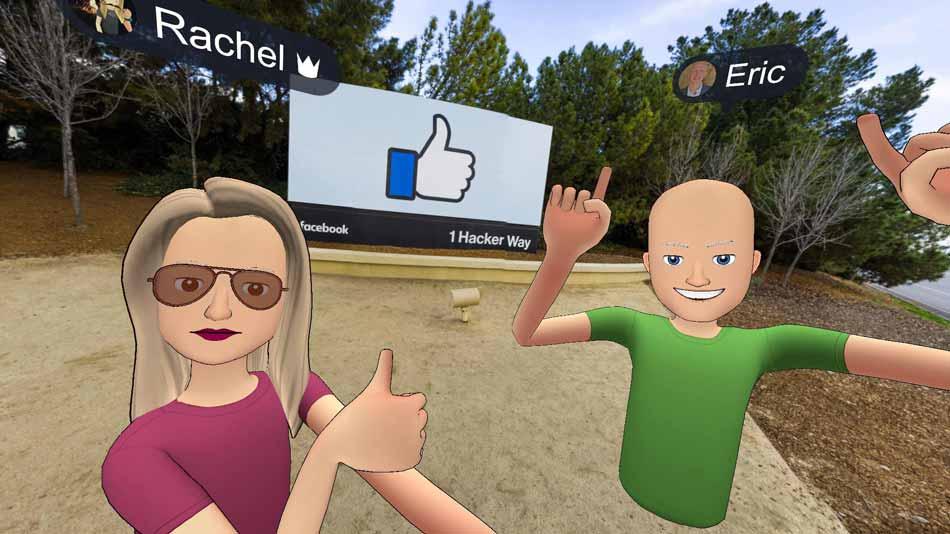 Facebook vergrößert sein Team für soziale Virtual Reality mit Eric Romo, dem Gründer der Social-Plattform AltspaceVR.