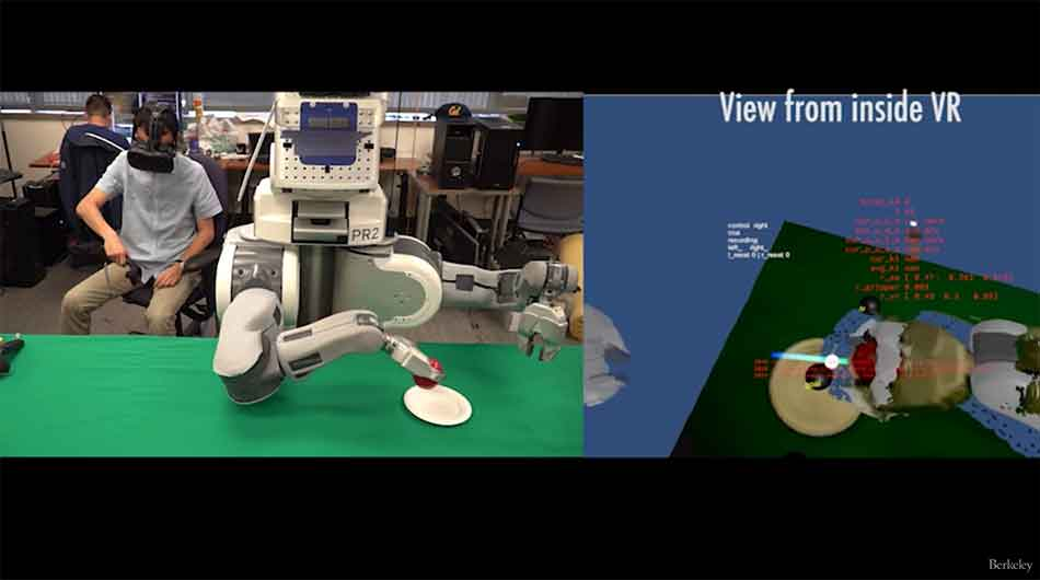 Künstliche Intelligenz lernt mit Virtual Reality menschliche Fähigkeiten