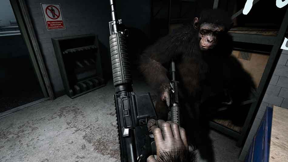 FoxNext bringt ein spielbares VR-Spinoff zur Filmtrilogie Planet der Affen heraus, in der man in die Rolle eines Affen mit menschlicher Intelligenz schlüpft.
