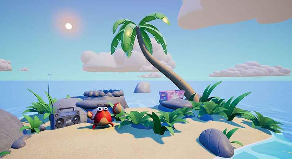 Gestrandet auf einer winzigen Insel, müssen Spieler ihren Verstand und ihre Erfindungsgabe einsetzen, Werkzeuge basteln und lästige Tiere vertreiben.